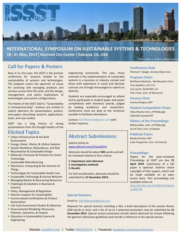 ISSST2014 Call for Papers 10
